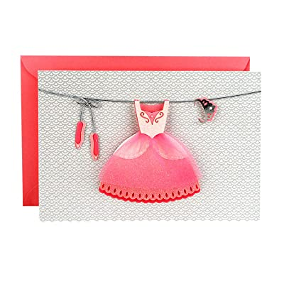 Hallmark Signature Birthday Card (Ballerina Princess) : Office Products