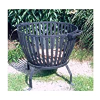 Feuerkorb XXL schwarz Fire Basket ✔ rund
