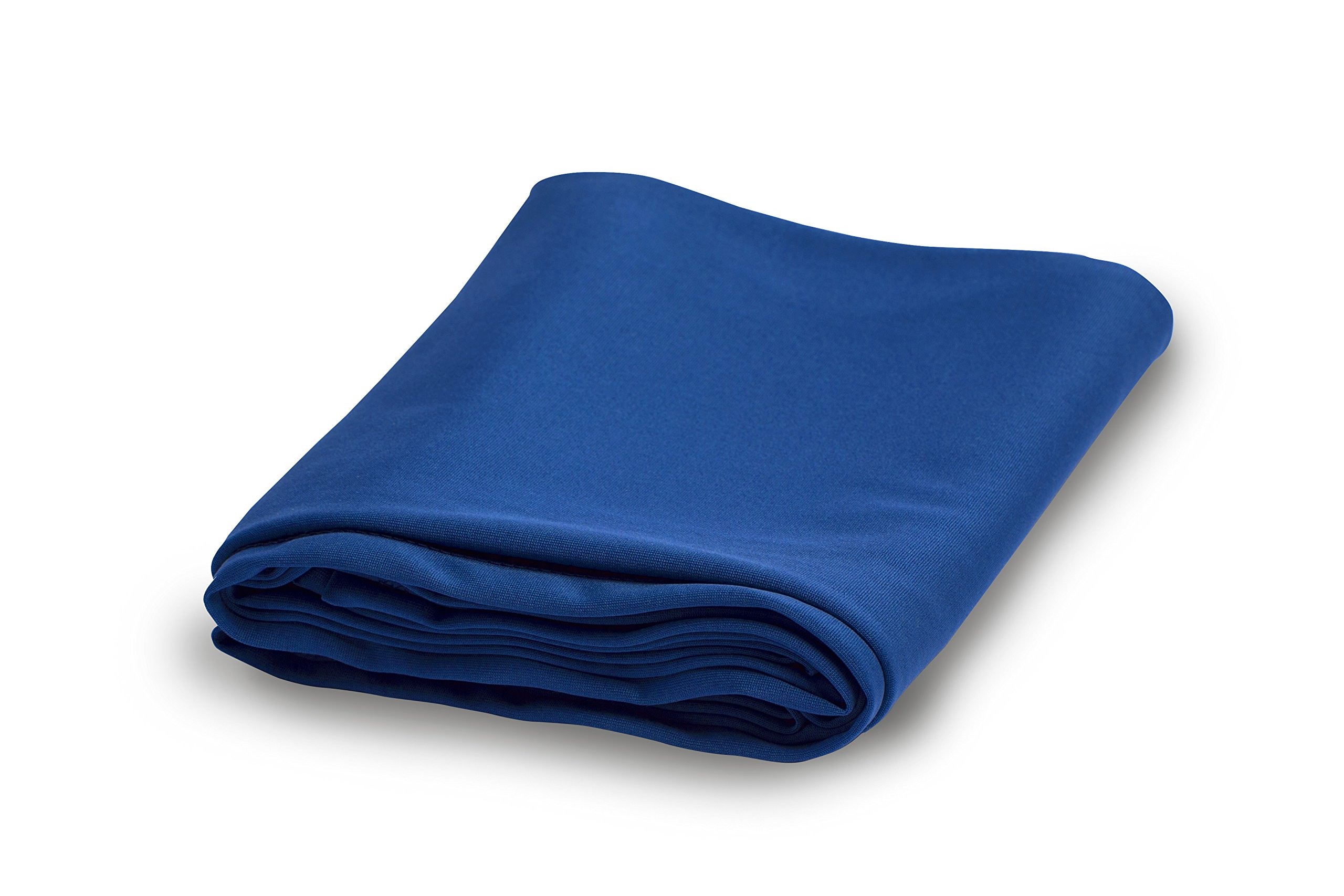 Extreme Ultralight Travel and Sports Towel. High Tech Better than Microfiber. Compact Quick Dry Lightweight Antibacterial Towels, 28''x34'', Extreme Royal Blue by Discovery Trekking Outfitters