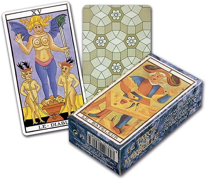 Fournier - 21817 - Juego de Sociedad - El Tarot de Marsella: Amazon.es: Juguetes y juegos