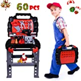 Amazon Com Toy Tool Set Workbench Kids Workshop Toolbench