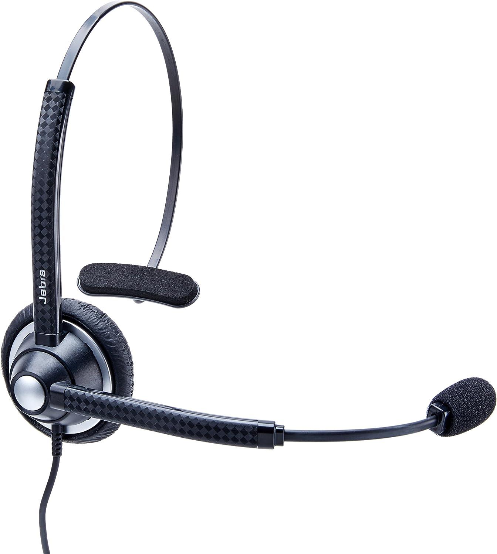 Jabra Biz 1900 DUO Noise-Canceling Black Headband Computer Headset Open Box