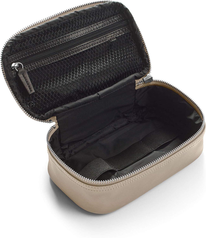 Leatherology Black Onyx Small Tech Bag Organizer
