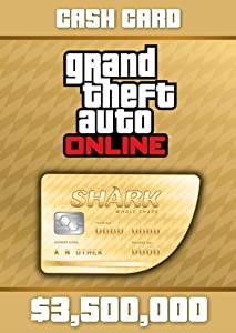 Grand Theft Auto Online: Whale Shark Cash Card - PS3 [Digital Code]
