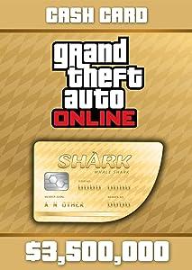 Grand Theft Auto Online: Whale Shark Cash Card - PS3 [Digital Code]
