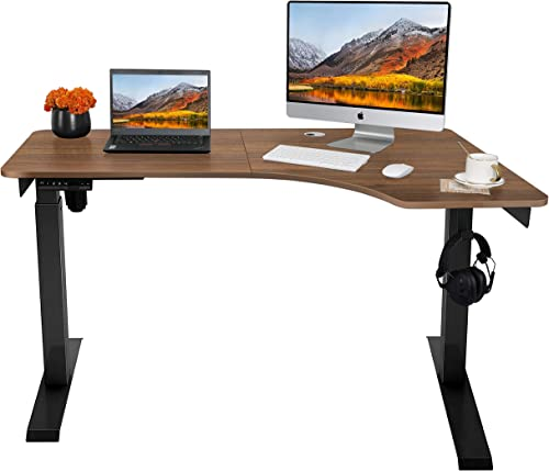 AuAg Electric Standing Desk L Shape
