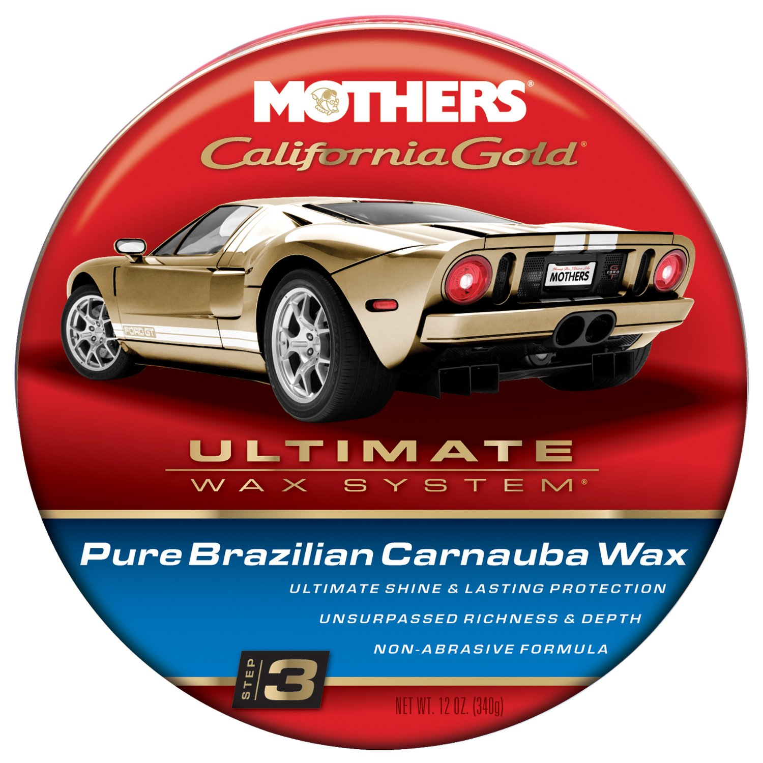 mothers-05550-california-gold-pure-brazilian-carnauba-wax-paste-ultimate-wax-system-step-3-12-oz-best-car-clean-wash-products-reviews