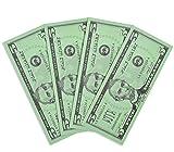 Learning Advantage Five Dollar Play Bills - Set of