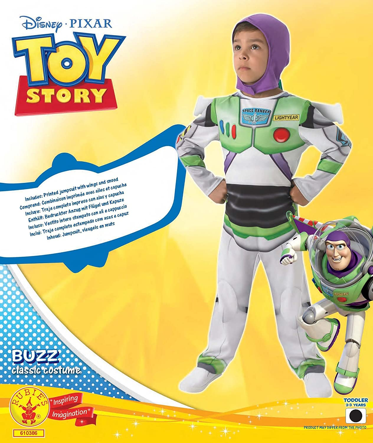 9c5f9fc6e9a Boys Disney Toy Story Buzz Lightyear Book Day Week Space Astronaut  Halloween Fancy Dress Costume Outfit Age 1-8 Years