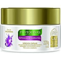 Phyto Tratamento Máscara Reparadora de Queratina 220Gr, Phytoervas, Branco