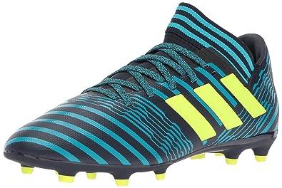 e9c908fcccf9 Adidas Performance Boys' Nemeziz 17.3 FG J, Legend Ink/Solar Yellow/Energy
