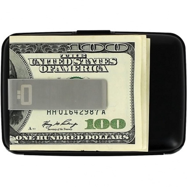 /ÖGON STC Stockholm Money Clip Wallet-Black