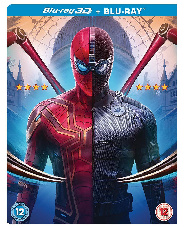 Spider-Man: Far from Home - [Blu-ray + Blu-ray 3D] [2019] [Region Free]