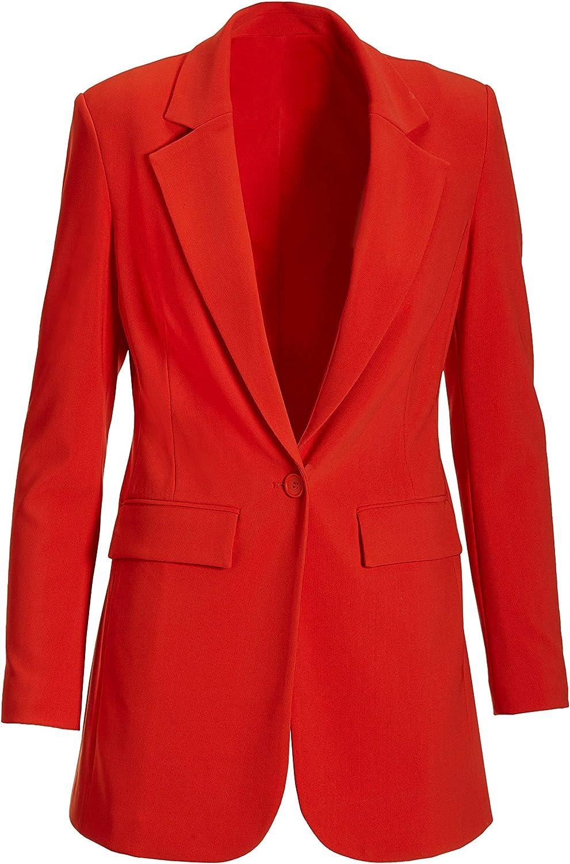 Boston Proper - Beyond Travel - Women's One Button Knit Boyfriend Blazer at  Women's Clothing store