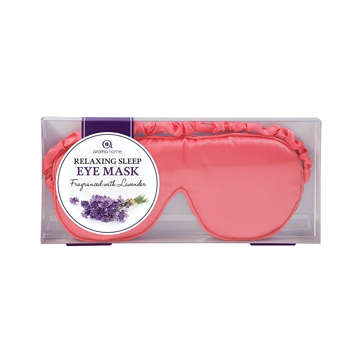 Aroma Home Coral Luxurious Eye Mask EM13-0025