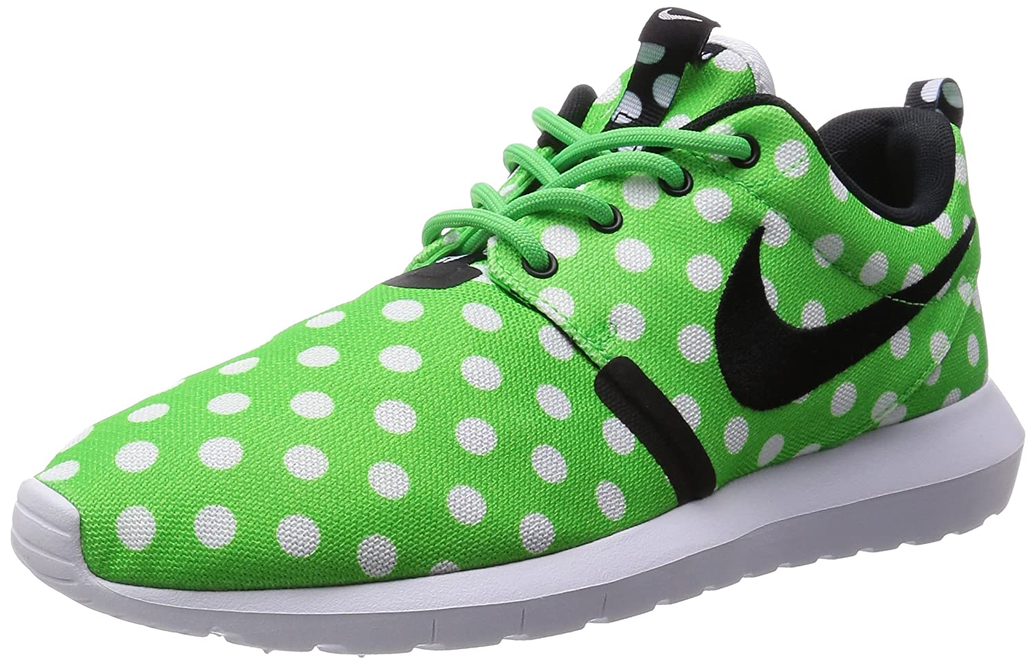 Nike Roshe NM QS, Zapatillas de Running para Hombre 43 EU|Verde / Negro / Blanco (Green Strike / Black-white)