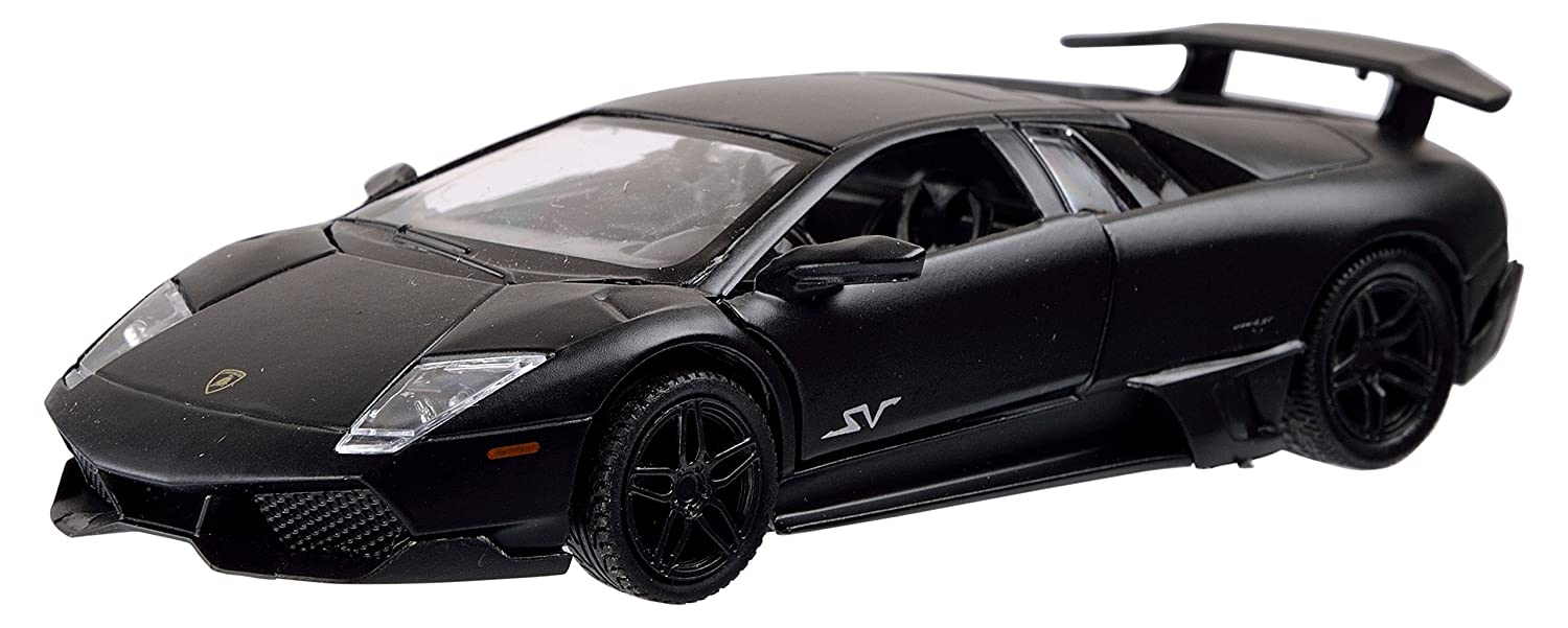 Buy Rmz City Die Cast Lamborghini Murcielago Lp6704 Matte Black 5