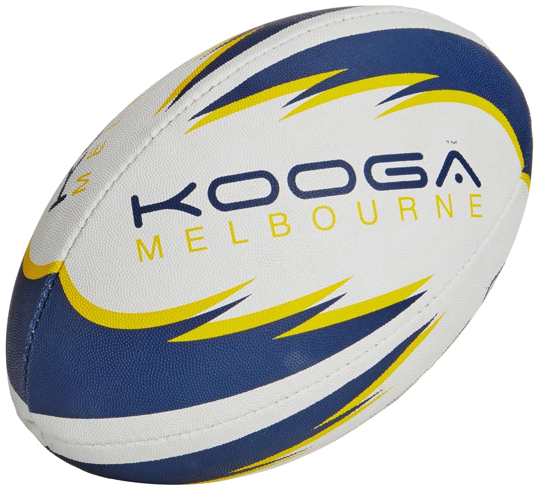 Kooga Melbourne - Pelota de Rugby, Color Blanco, Talla Size 5 ...