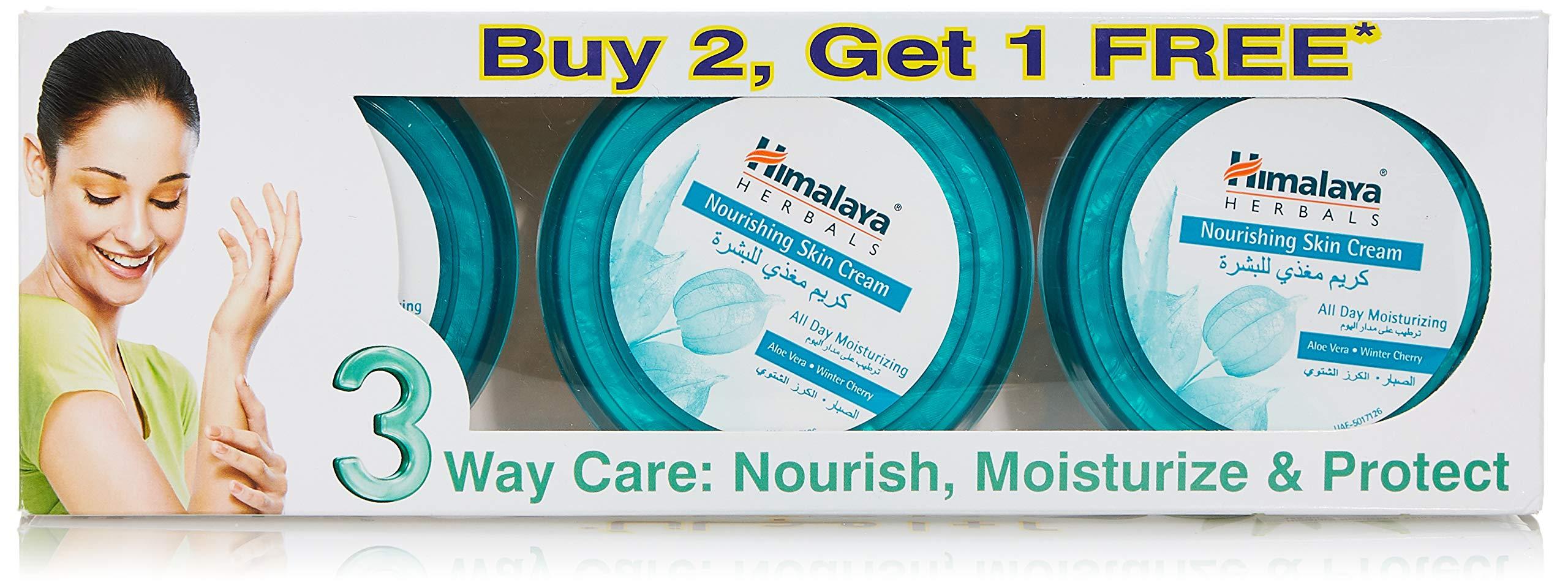 Himalaya Nourishing Skin Cream, 3 X 150 ml