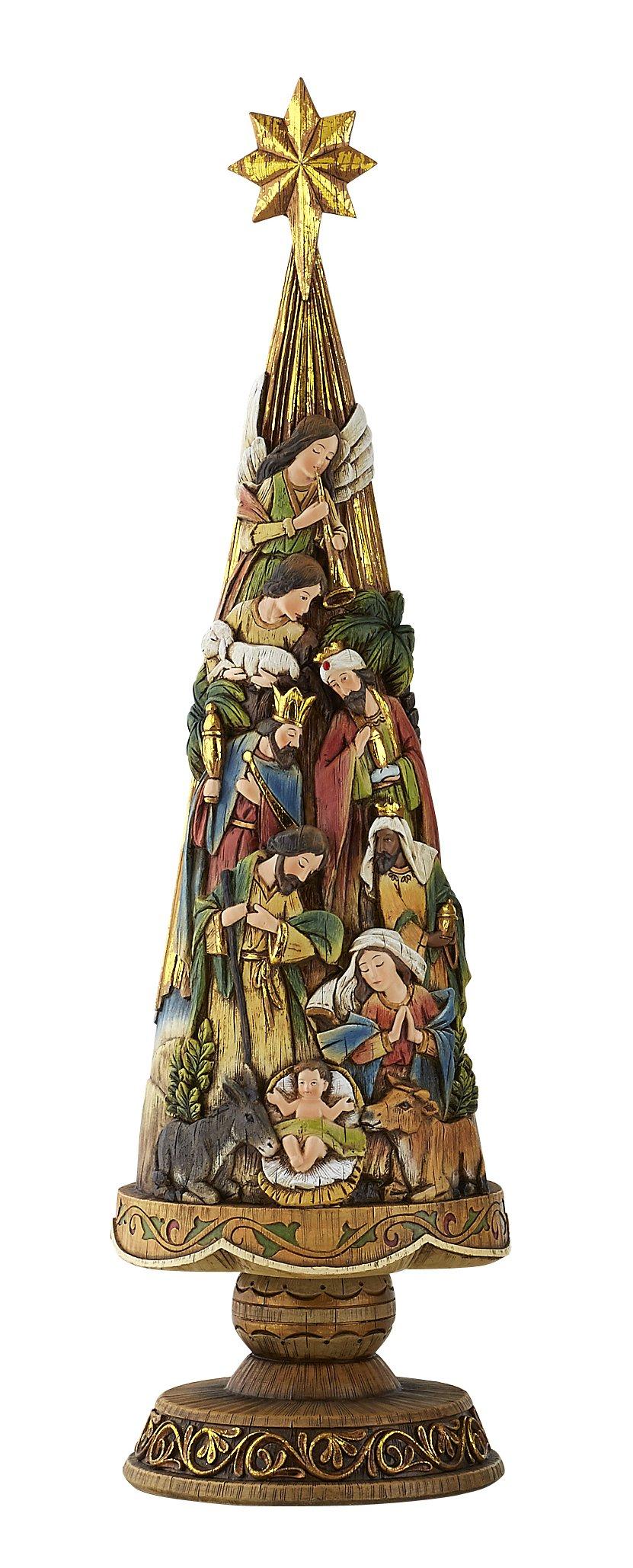 Avalon Gallery Nativity Christmas Tree Figurine