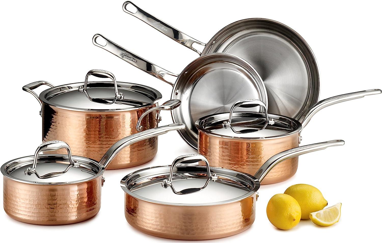Lagostina Martellata Hammered Copper Pan REVIEW