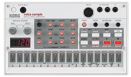 4 opinioni per Korg Volca Sample Sequencer campionatore midi e multi touch per applicazioni