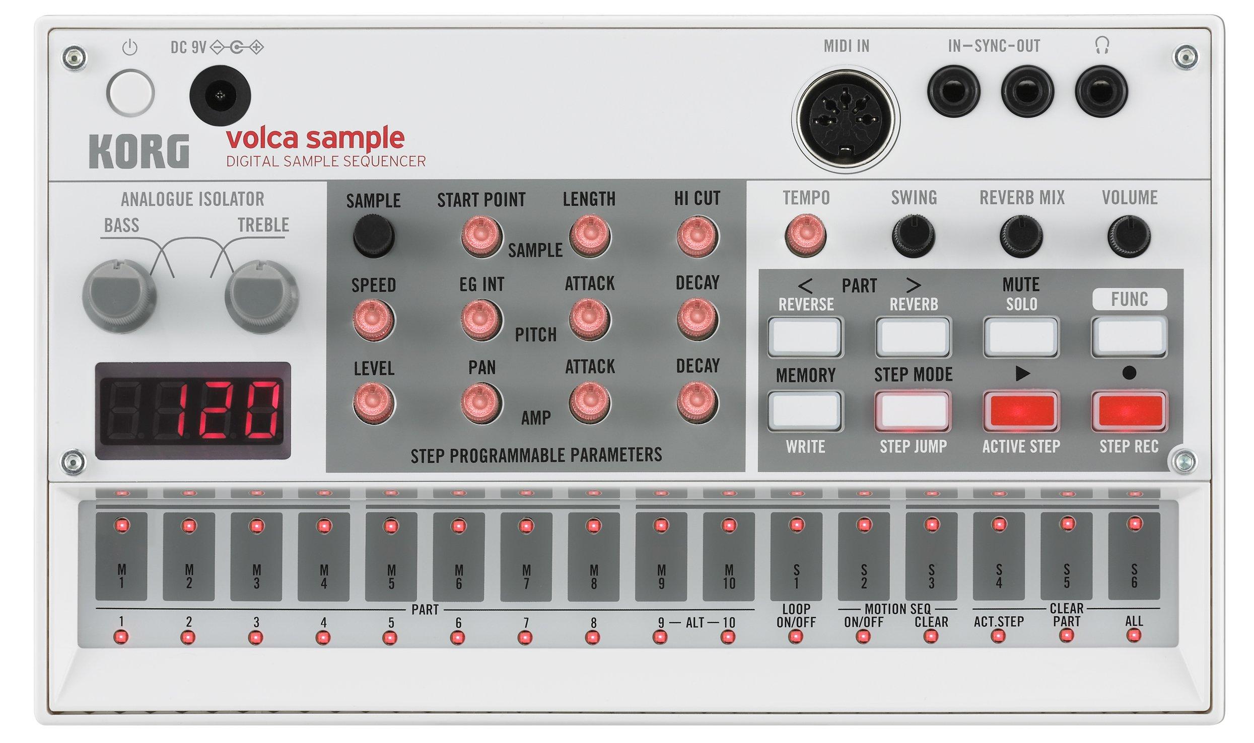 Korg VOLCASAMPLE Playback Rhythm Machine