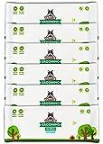Salviette Pogi per toelettatura Pacchetto di Viaggio - 120 salviette deodoranti per Cani - biodegradabili, Senza Profumo, ipoallergeniche
