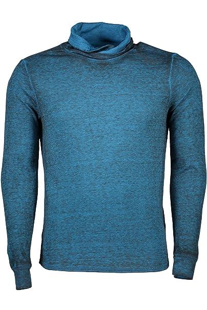 GUESS JEANS M63P52K0BS0 Sudadera sin cremallera Hombre azul H646 XL: Amazon.es: Ropa y accesorios