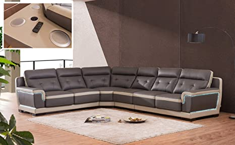 Excellent Amazon Com Ultra Bonded Leather Living Room Furniture 4Pc Bralicious Painted Fabric Chair Ideas Braliciousco
