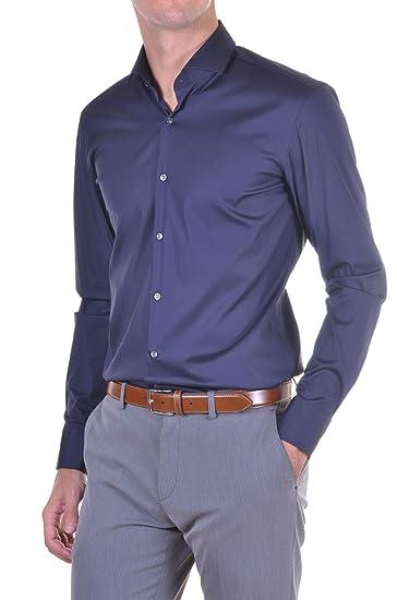 Hugo Boss New Mens Purple Slim Fit Stretch Long Sleeve Smart Shirt Jason  50260064 (17