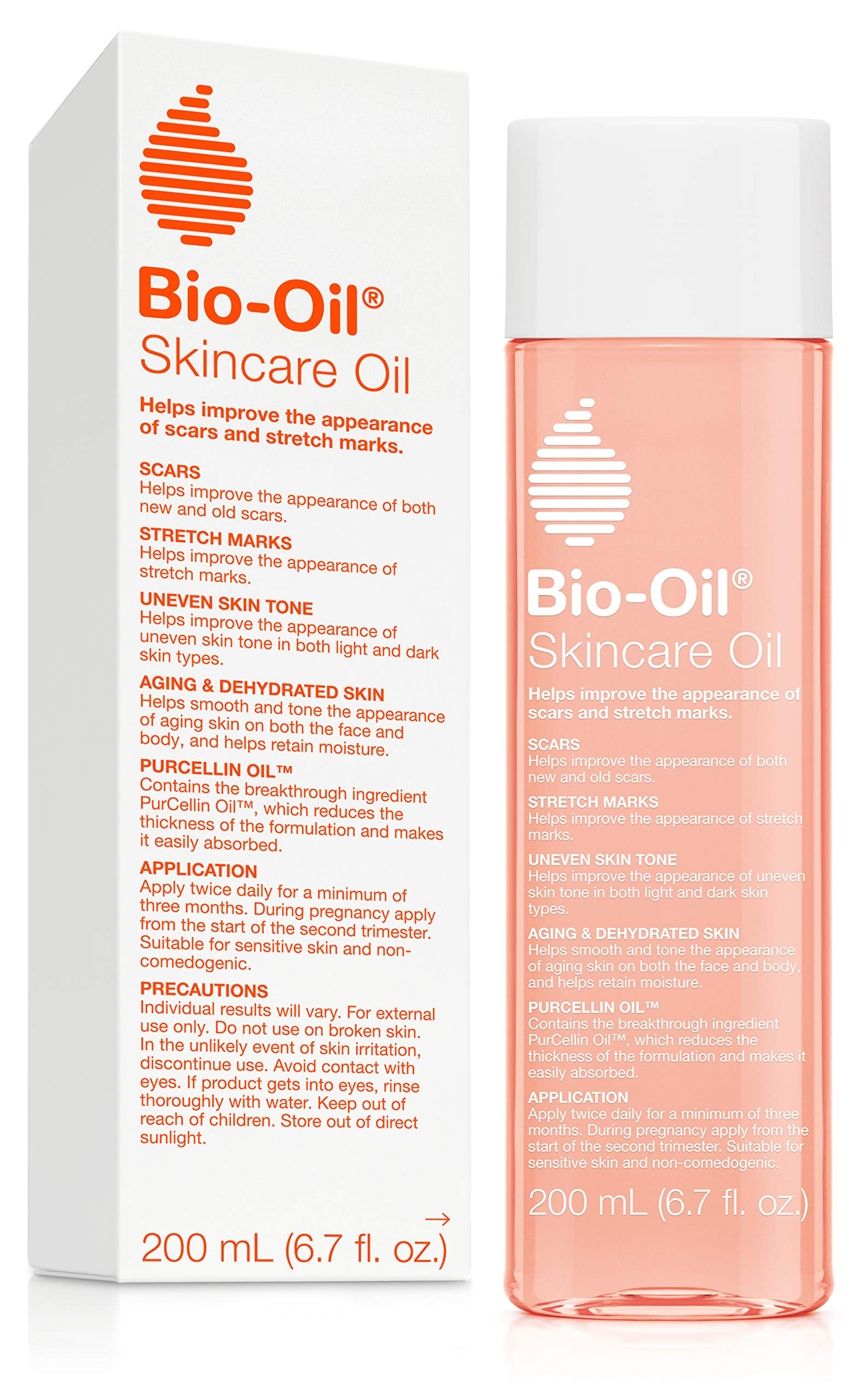 Bio-Oil 200ml: Multiuse Skincare Oil (6.7oz) by Bio-Oil