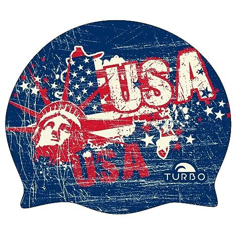 Turbo USA V- Cuffia per nuoto afe1165f6f94