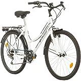 Multibrand Distribution Probike 26 City Zoll Fahrrad 6-Gang Urbane Cityräder for Heren, Damen, Unisex 455mm