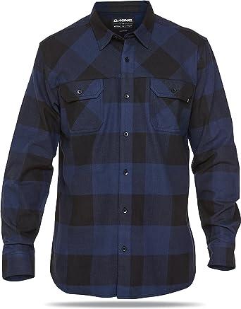 DAKINE Camisa Cascade L/S Flannel Azul Negro Talla:M: Amazon.es: Deportes y aire libre
