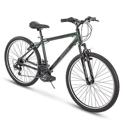Amazon.com : Huffy Hardtail Mountain Bike, Exxo 26 inch 21-Speed ...
