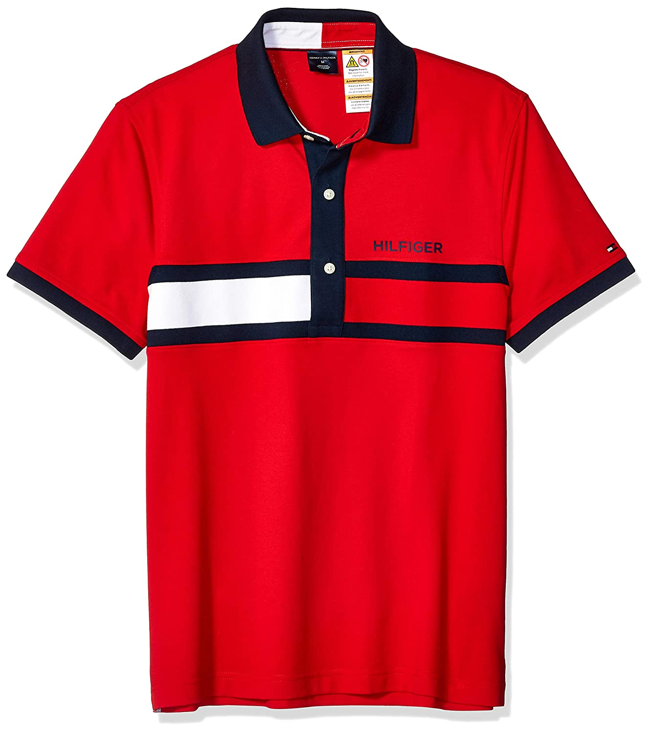 66938487e Tommy Hilfiger Mens Adaptive Polo Shirt with Magnetic Buttons Custom Fit  Polo Shirt: Amazon.ca: Clothing & Accessories