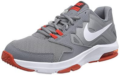 Nike Mens Air Max Crusher 2 Grey Lace Up Athletic Cross Training Shoes  75 M
