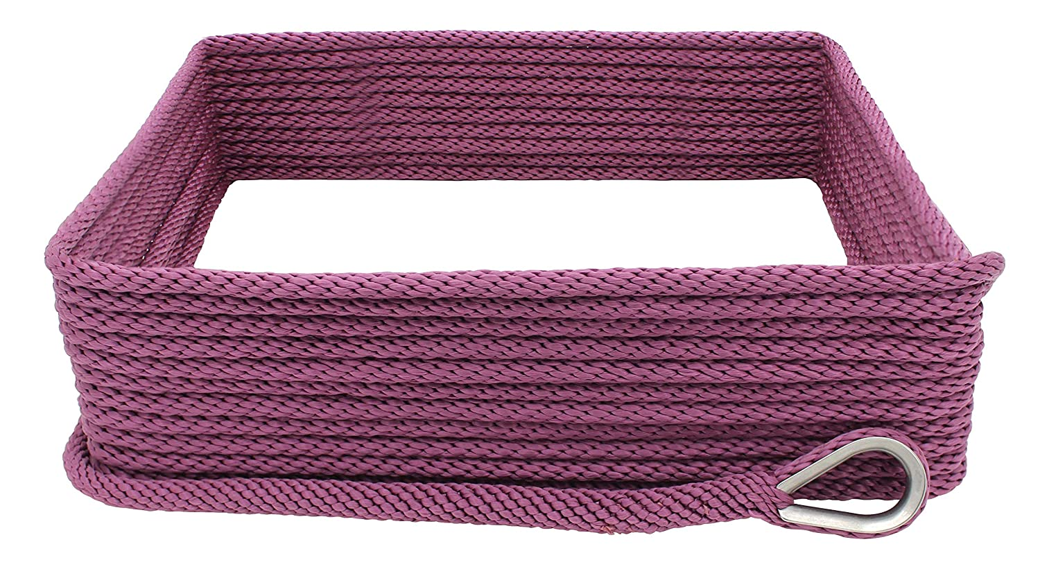 Extreme Max 3/8' x 100 3006.2657 Premium Solid Braid MFP Anchor Line with Thimble-3/8 x 100', Neon Green