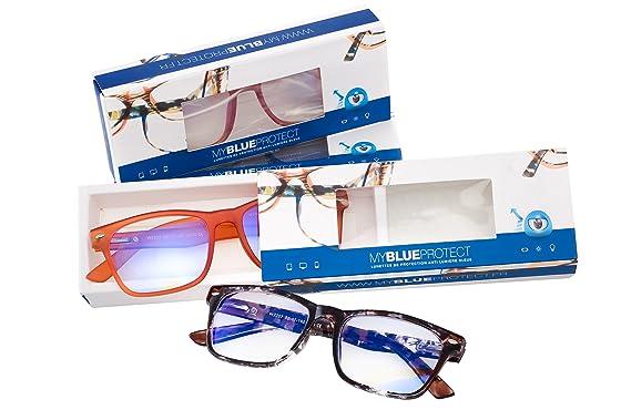 My Blue Protect Gafas, protección anti, anti fatiga, luz azul filtro Les UV (Model PS85)