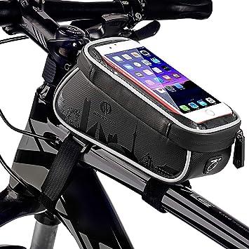 Bolsa de Cuadro de Bicicleta, Bolsa Impermeable de Bolsa Delantera ...