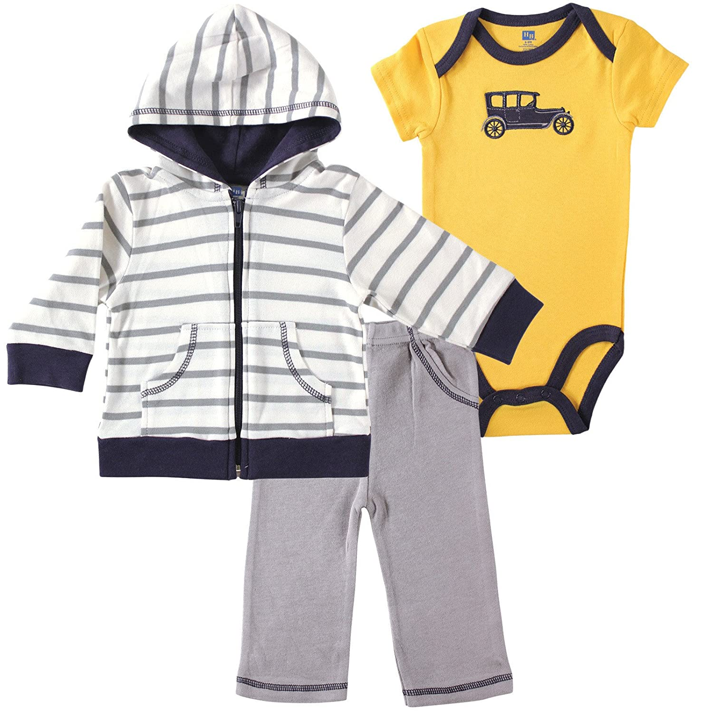 Bodysuit Hudson baby Hoodie and Pant Set
