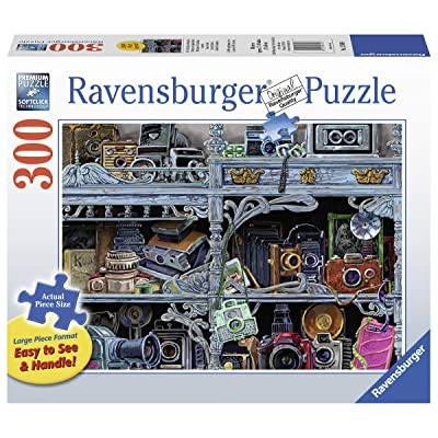 Ravensburger Camera Evolution 13586 300 Piece Large Pieces Jigsaw Puzzle for Adults, Every Piece is Unique, Softclick Technology Means Pieces Fit Together Perfectly: Toys & Games