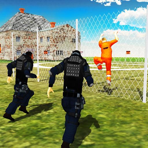 Prison Police Chase Jail Break