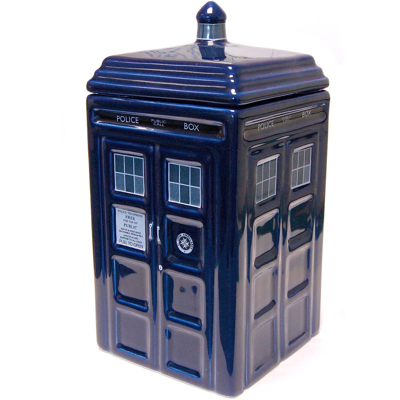 Doctor Who Tardis Ceramic Cookie Jar, DR189 Zeon UGTDR189