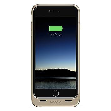 Mophie Juice Pack - Carcasa con batería para Apple iPhone 6 Plus, 2600 mAh, color dorado