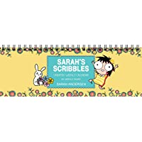 Sarah's Scribbles Undated Weekly Desk Pad Calendar
