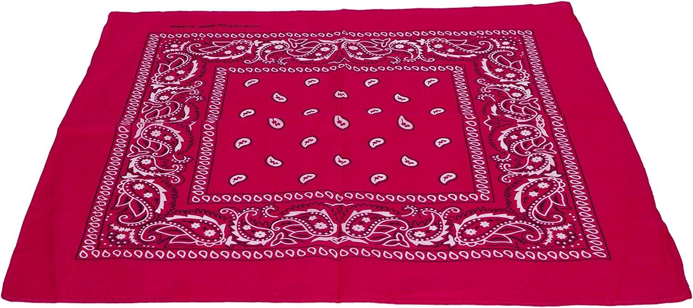 Cotton Paisley Design Kerchief//Bandana