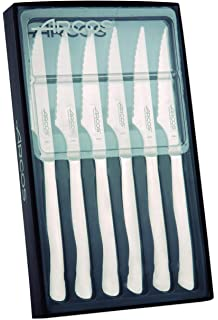 Arcos 702000 - Cuchillo chuletero, 110 mm, 1 unidad: Amazon.es: Hogar