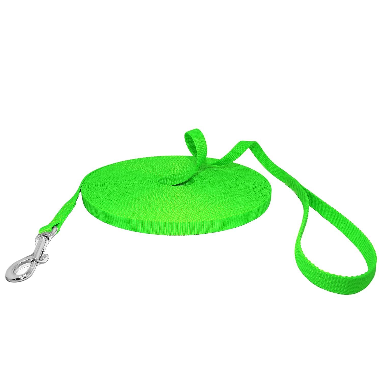 Longe solide Vert fluo Hunde Design